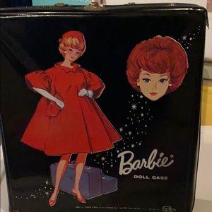 Barbie doll case vintage